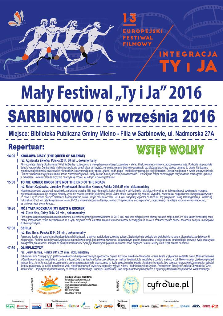 Mały Festiwal 2016 - plakat